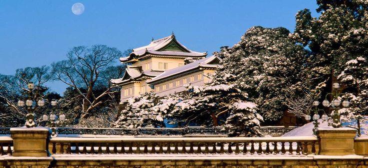 CASTILLO DE CHIYODA: EL PALACIO IMPERIAL DE TOKIO