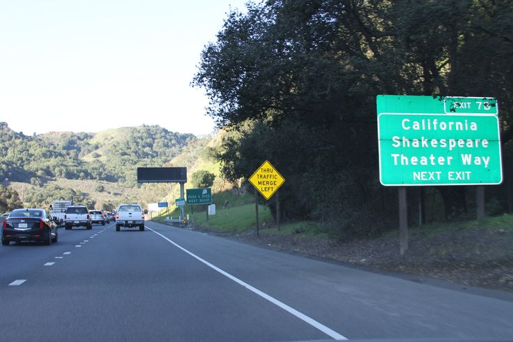 https://flic.kr/p/RP5nME | California Shakespeare Theater Way next exit | California Shakespeare Theater Way next exit