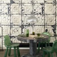 Brooklyn Tin Tile Wallpaper - 01