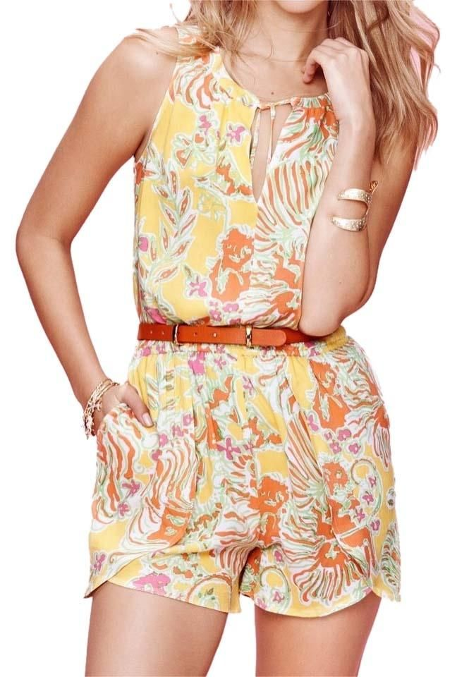 Lilly Pulitzer Multi Lilly For Target Romper/Jumpsuit. Free shipping and guaranteed authenticity on Lilly Pulitzer Multi Lilly For Target Romper/Jumpsuit at Tradesy. NWT. Lilly for Target. Ladies Romper.  Ladies Size...