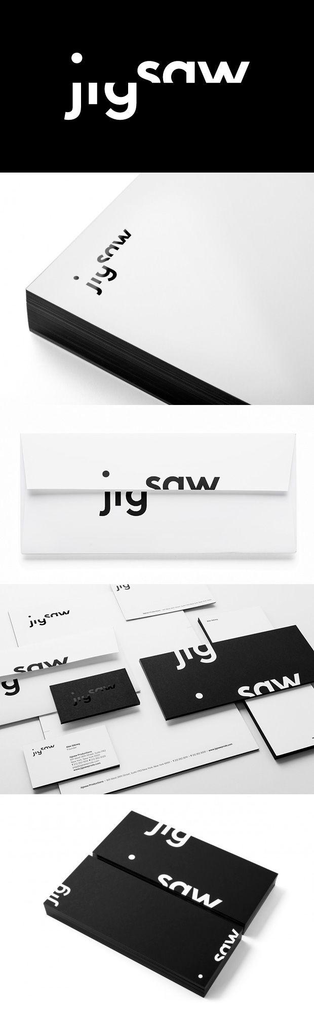 New identity for Jigsaw by pentagram