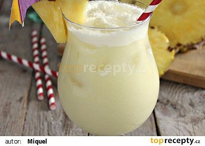 Piña colada (podle IBA) recept - TopRecepty.cz