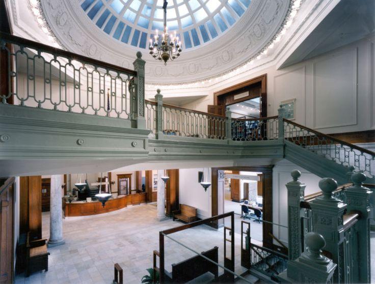 Robert A. M. Stern; Bangor Public Library (Renovation and Addition); Bangor, Maine, 1998.