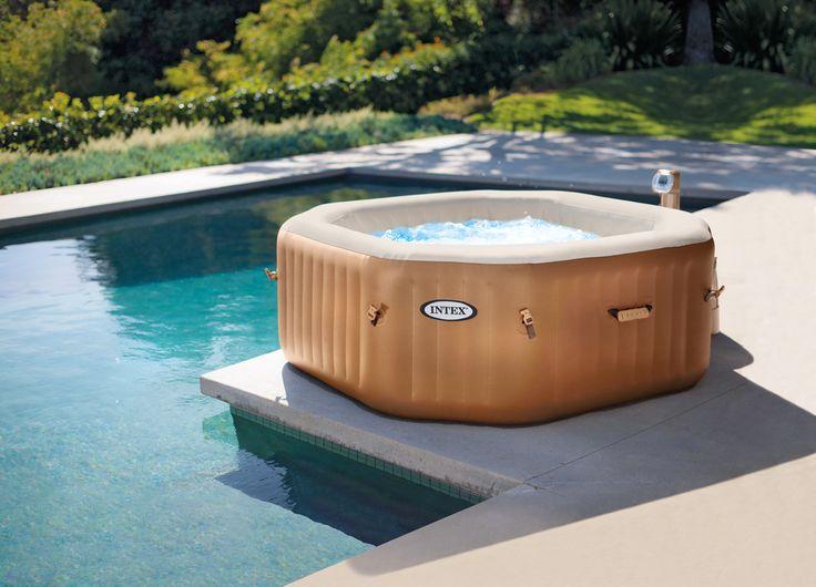 Simple Der Whirlpool Pure Spa Octagon von INTEX bietet Euch ein Wellness Erlebnis auf h chstem
