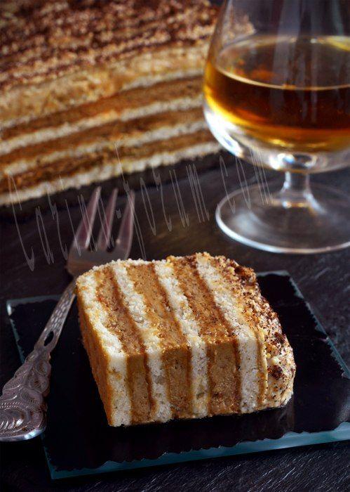Кофейный торт без выпечки.