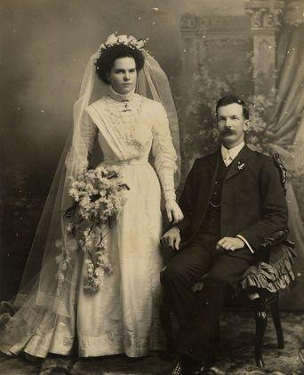 Wedding dress, cream silk voile, Port Macquarie Historical Society, Hamilton, Port Macquarie, NSW, Australia 1909
