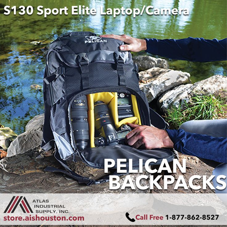Backpack with built-in watertight & crushproof laptop case http://store.aishouston.com/pelican/pelican-backpacks/s1spelladipa-detail.html