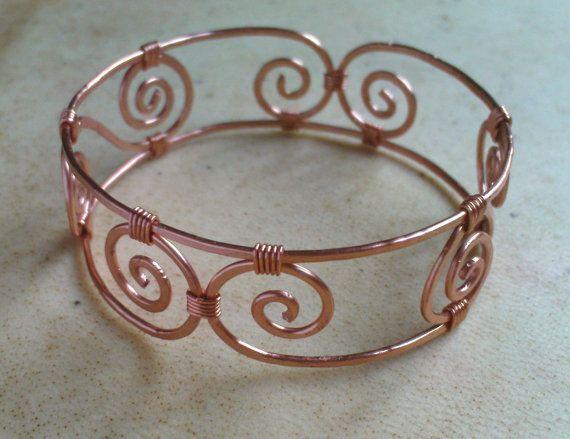 about Copper Bracelet on Pinterest   Copper wire jewelry, Copper wire ...