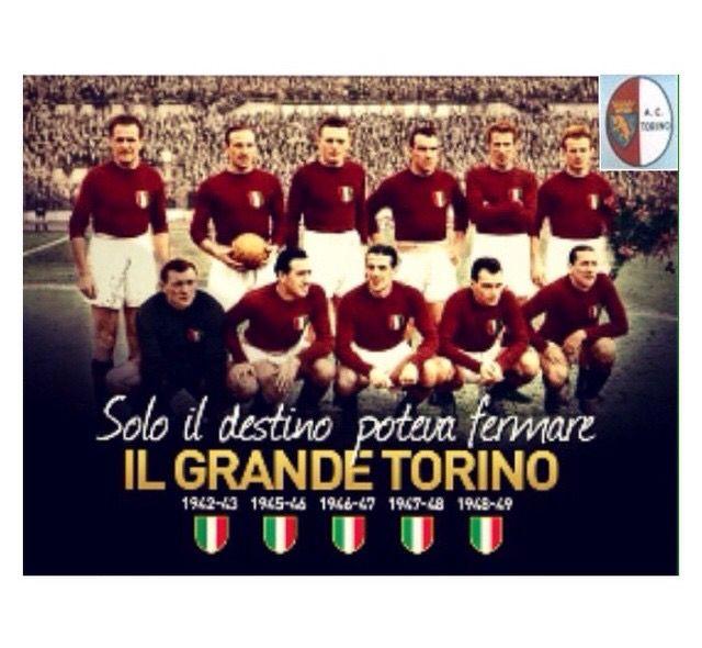 Dopo la Mia INTER...il Grande TORO é l'unica squadra italiana che ammiro... Per sempre nella storia •4 maggio 1949• ❤️