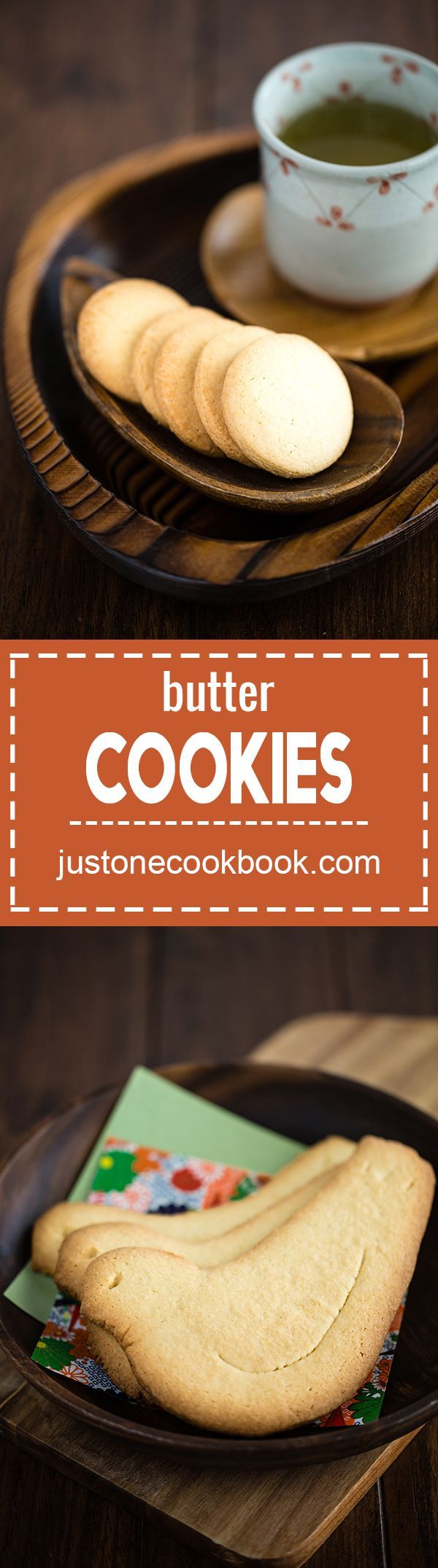Butter Cookies (Hato Sable) 鳩サブレー | Easy Japanese Recipes at http://JustOneCookbook.com