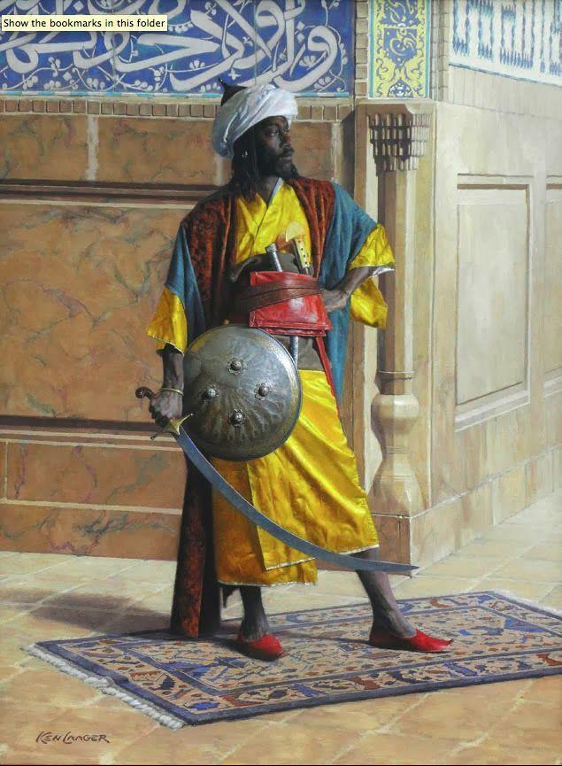 Moorish man at Arms