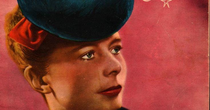 Que belo chapéu! Revista Eva , Natal de 1939.