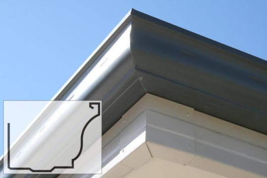 Colorbond gutters installed by Gutter Guys, Perth's most experienced gutter replacement professionals.