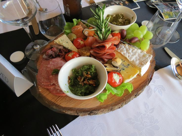 Another variation of our delicious tree trunk platters.