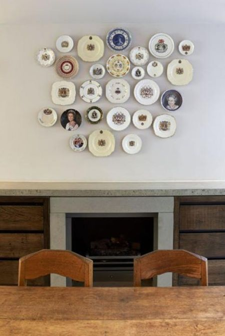 Accessories Plates As Wall Decor By