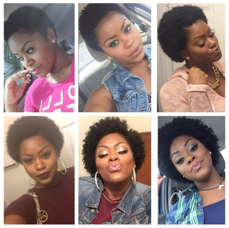 ➰➰ My growth update since my 2nd big chop back on June 20, 2015! I'm loving every bit of my journey! #06202015 #2ndBigChop #NaturalHairJourney