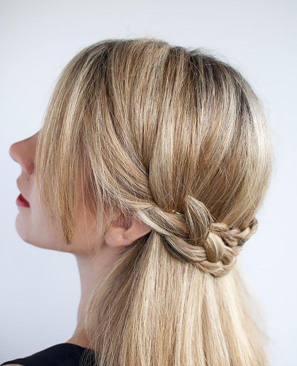 Super 1000 Ideas About Half Crown Braids On Pinterest Crown Braids Hairstyle Inspiration Daily Dogsangcom