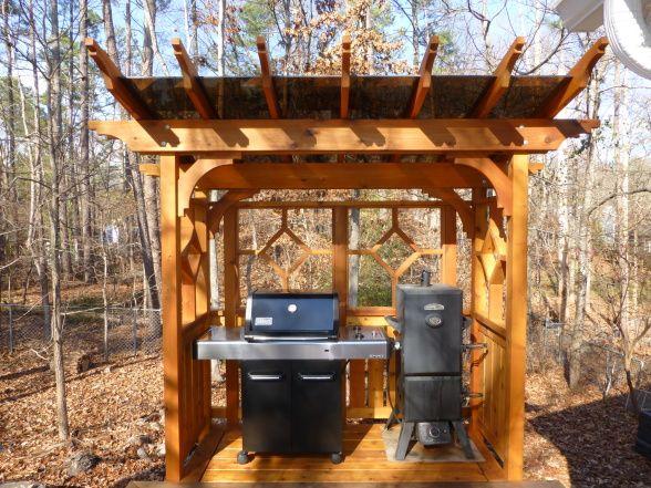 28 Best Bbq Shelter Images On Pinterest Cabanas Wooden