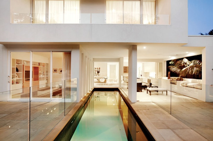 Solar Lap Pools Alluring Out From The Blue  Lap Pool Kew Indoor Glass Cantilever