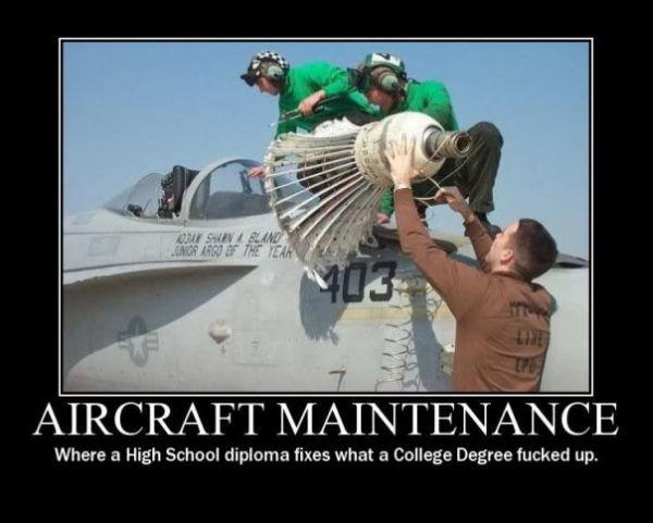 Aircraft Maintenance Wallpaper Aircraft Maintenance Funny