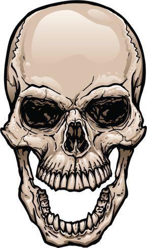 87b91a72d8f2a Pin by John Barber on viking | Skull, Skull stencil, Skull tattoos