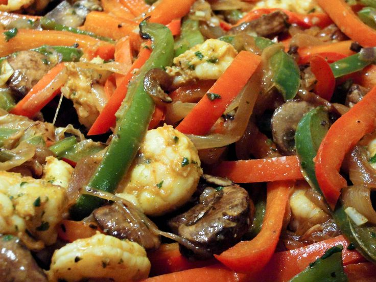 """Shrimp Fajitas (without the funky chemical """"spices"""") « My Fancy Pantry"""