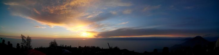 Sunrise from Mount Prau, Dieng - Central Java