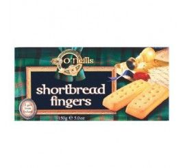 How about a biscuit with coffee? O'Neill's Shortbread Fingers 150g.