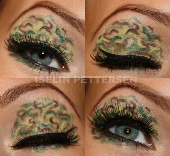 Holy crap! Camo eye lids?!... I think yes!
