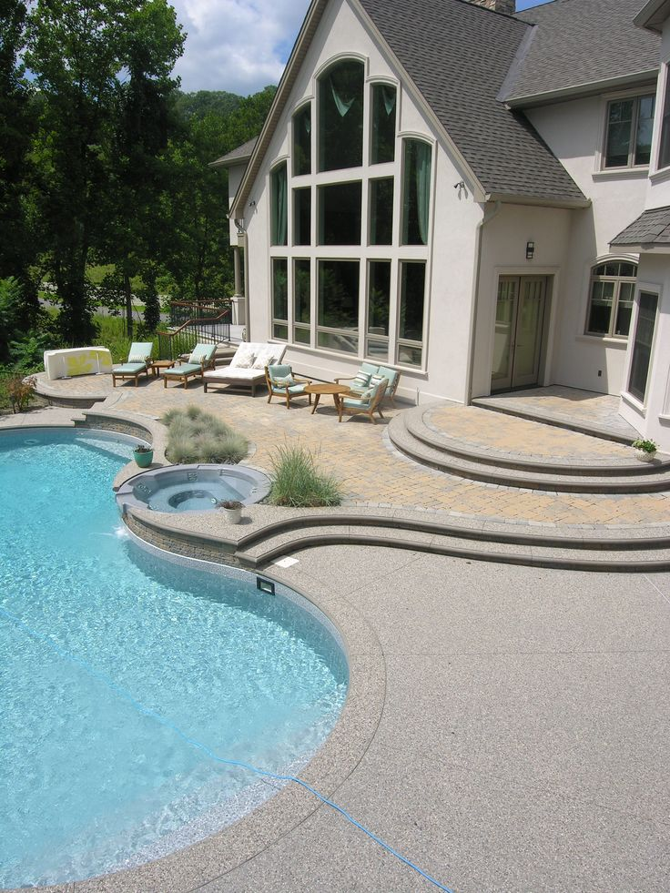 best 20 pool and patio ideas on pinterest backyard pool landscaping outdoor pool and backyard ideas pool - Inground Pool Patio Ideas