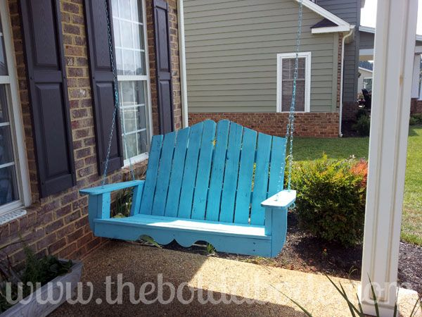 17 best ideas about pallet porch swings on pinterest for Diy adobe house