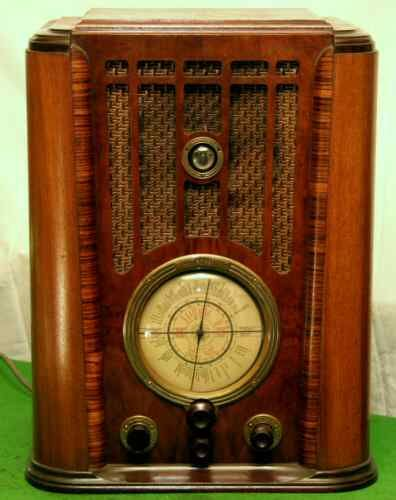 Old Vintage Radio. Used to sit in front of this and listen to it for hours. Amos and Andy, The Shadow Knows, Fibber McGee and Molly, The Jack Benny Show, etc.