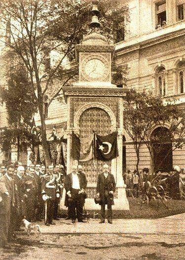 Ottoman Clock Tower in Mexico, 1910 (Meksika'da Osmanlı Saat Kulesi, 1910).