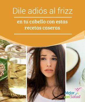 Dile adiós al frizz en tu cabello con estas recetas caseras La combinación de ingredientes naturales nos permite preparar algunas recetas para eliminar el molesto frizz de nuestro pelo. ¡Descúbrelas!