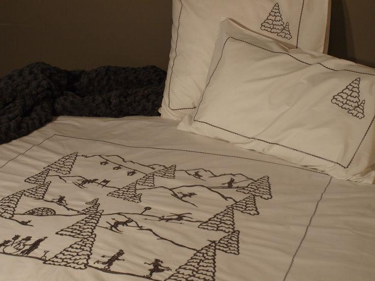 housse de couette sport d 39 hiver deco chalet vagabonde housse de couette sport d 39 hiver. Black Bedroom Furniture Sets. Home Design Ideas