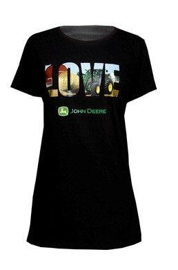 Ladies Black 100% cotton, ringspun combed cotton t-shirt has the letter os