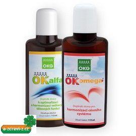 """Ok Alfa+ OK Omega+ - sada pro zdravou a hezkou pokožku. """"Zdraví je vnitřní krása, která se projevuje na našem zevnějšku !"""""""
