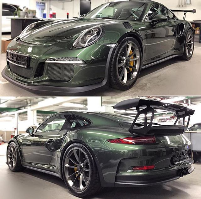 Paint-to-Sample is not the only means of getting your GT3 RS in your desired color apparently. This one is an authorized dealer repaint by Porsche's Sportcar Center in Moscow, Russia. What do you think? : @vacaone | Follow @ptsrs and join the #PTSRS movement for the latest on the newest #painttosample Porsche 911 RS cars and 911 R's.