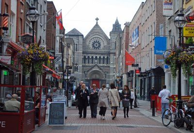 Dublin, Ireland, or anywhere in Ireland. I want to visit all the pubs, even though I don't drink and see the beautiful countryside and all the gingers! It's my ancestral roots.