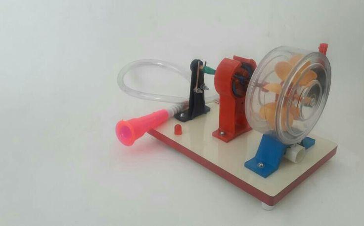 Water turbine working model  abron exports