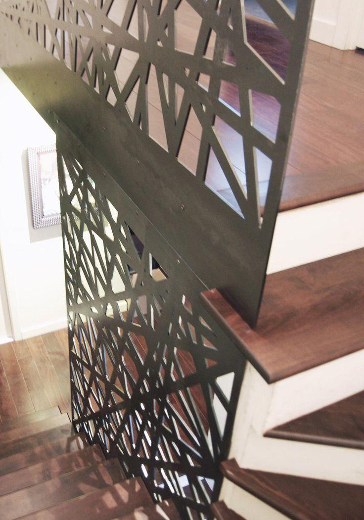 25 melhores ideias de garde corps acier no pinterest for Decoupe angle plinthe bois