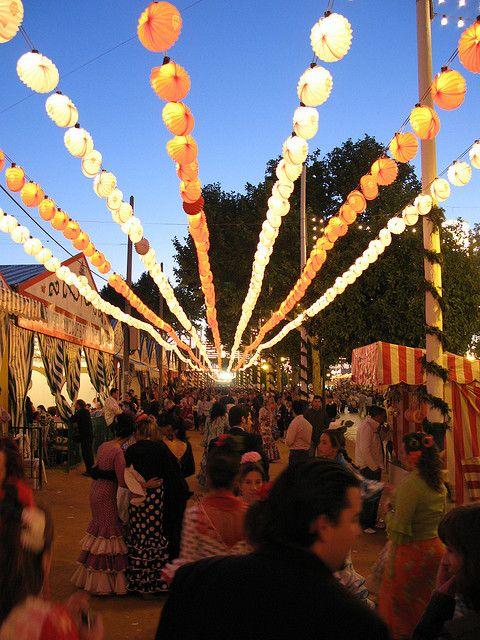 Feria de Sevilla, Spain, by Manuel Rodriguez on Flickr