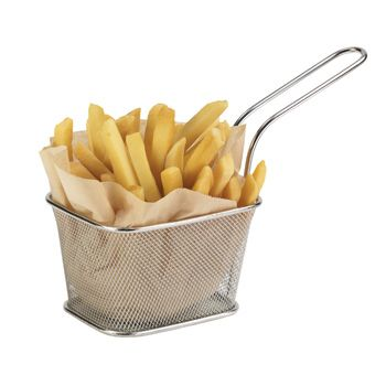 Stainless Steel Double Serving Medium Fry Basket - for my french fry maker
