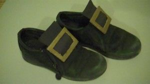 How to Make Leprechaun Costume Shoes - The Woodland Elf