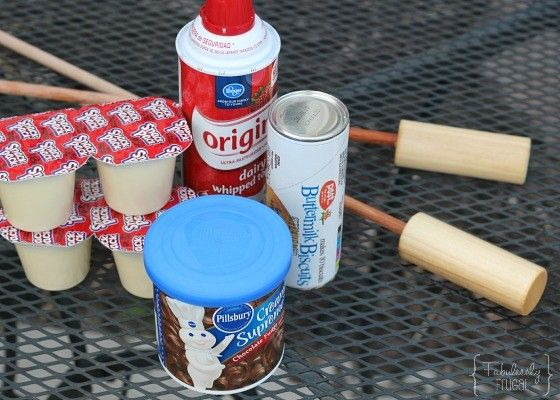 Campfire Eclairs Recipe {Woof 'Ems}