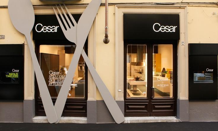 #Cesar flagship store – Torino