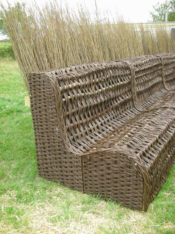 Basket Weaving With Willow Branches : Best images about willow weaving and basketry on