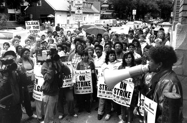 In 1987, CPS teachers went on strike for a record 19 days.