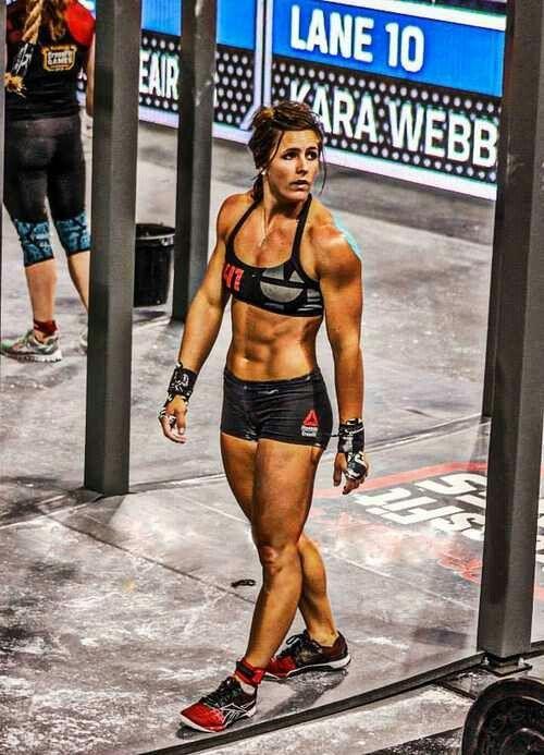 Crossfit athlete Stacie Tovar