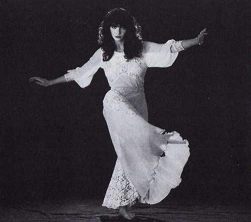 """Kate Bush, """"Wuthering Heights"""". Photo by Gered Mankowitz, 1979."""